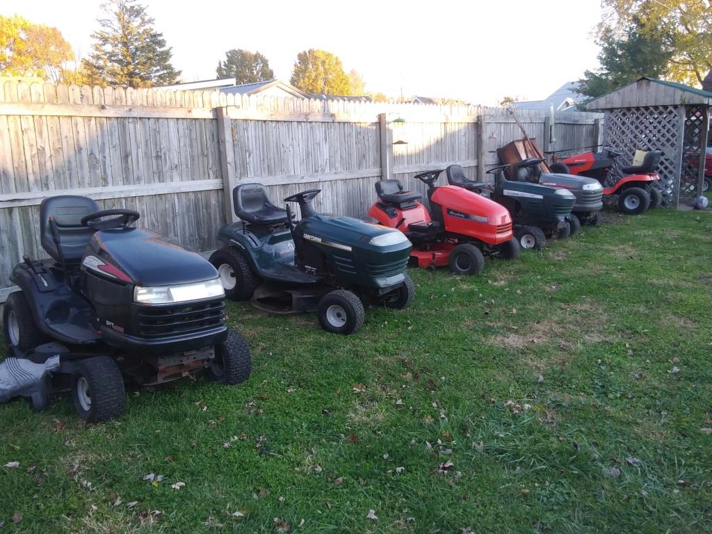 Murraymountain's Lawn Tractor Repairs 20181110