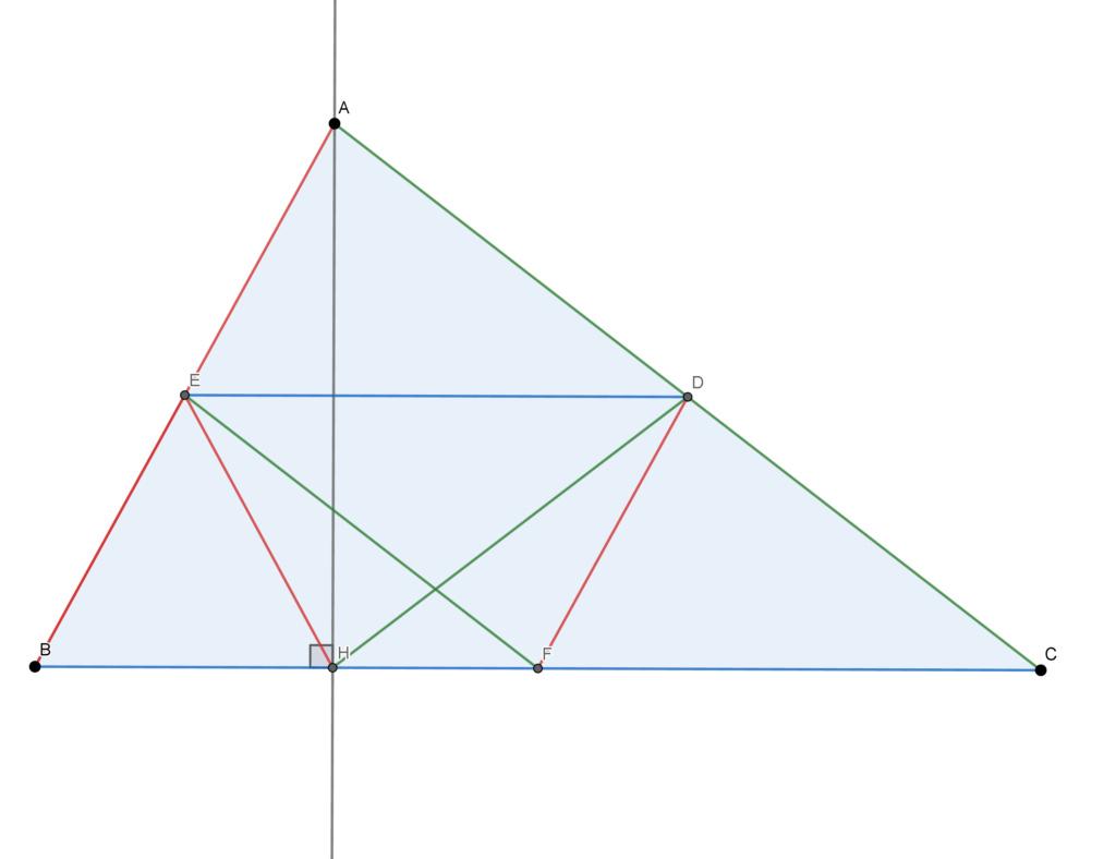 Geometria plana, congruência de triângulos Circul10