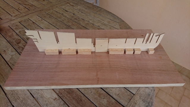 Mon premier chantier : L'HERMIONE, Artesania Latina, 1/89eme Dsc_0010