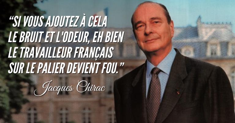 Les trucs de malade qui nous arrivent dans nos vies de oufs! - Page 38 Chirac10