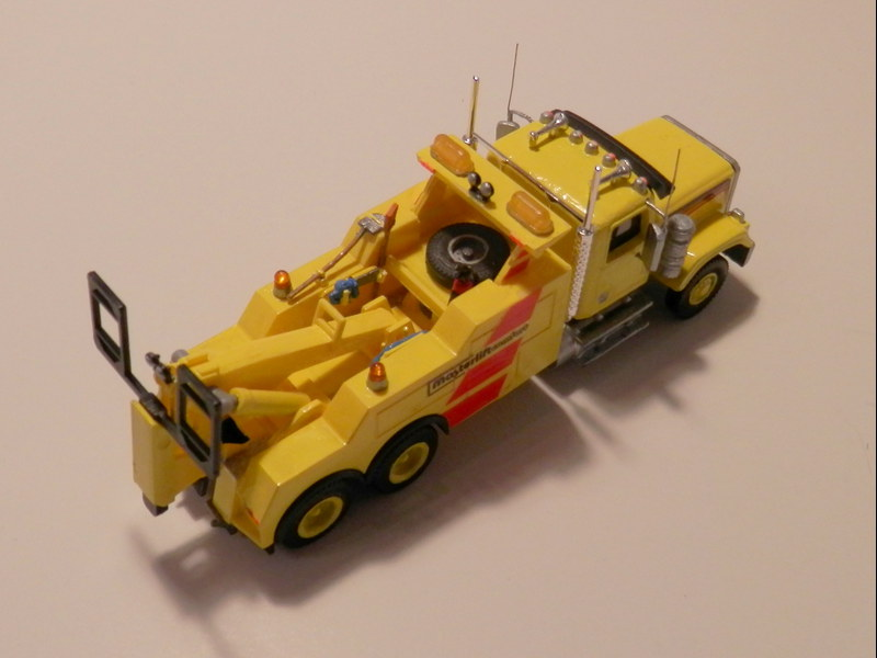 US Tow & Recovery Truck 1:87 P3150013