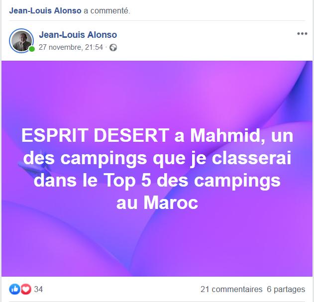 [Maroc Camp/Dernières nouvelles] Mon nouveau camping à Mhamid Esprit Désert - Page 18 Alonso10