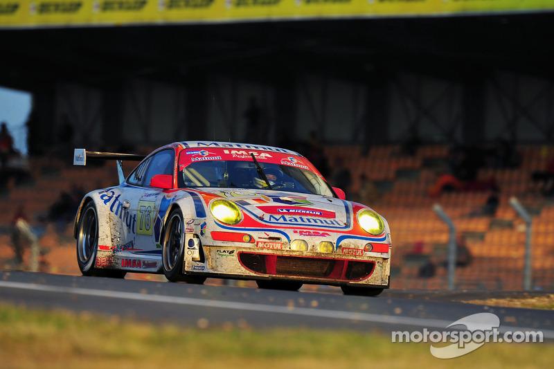 Les Porsche 911 de l'endurance Lemans10