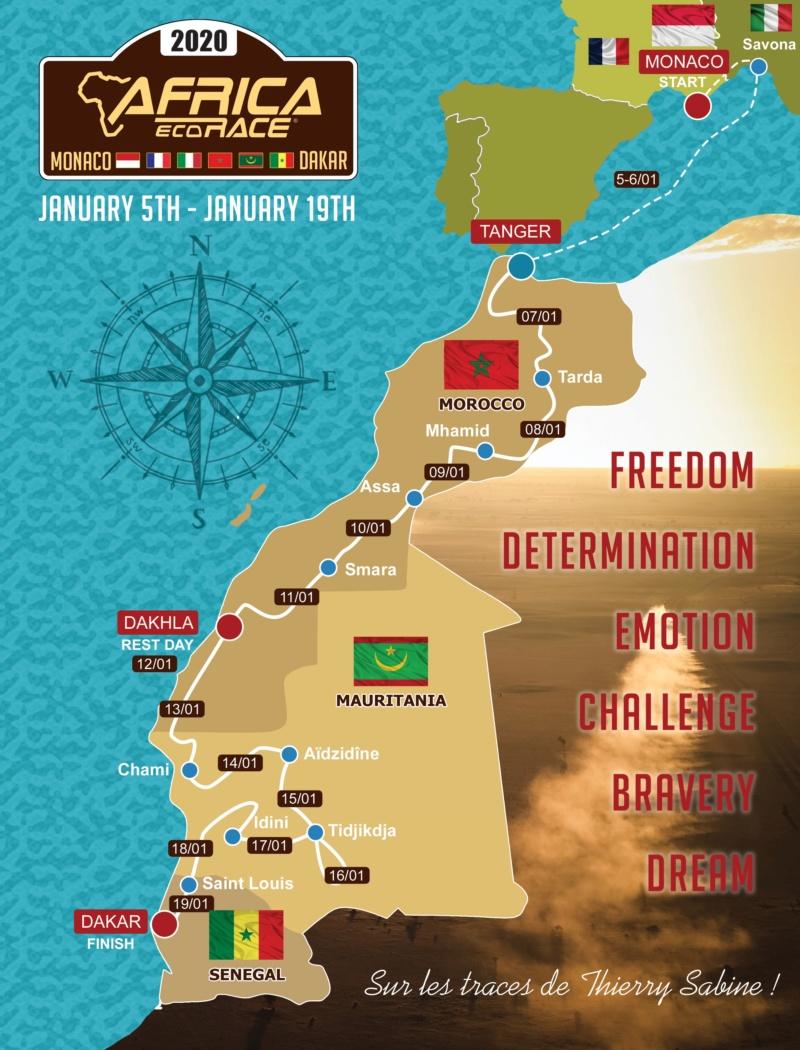 L'Africa Eco Race - le vrai Dakar Map_fi10