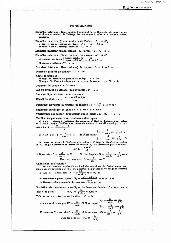 Filengrène: un logiciel pour la conception et la fabrication d'engrenage Nf_e2210