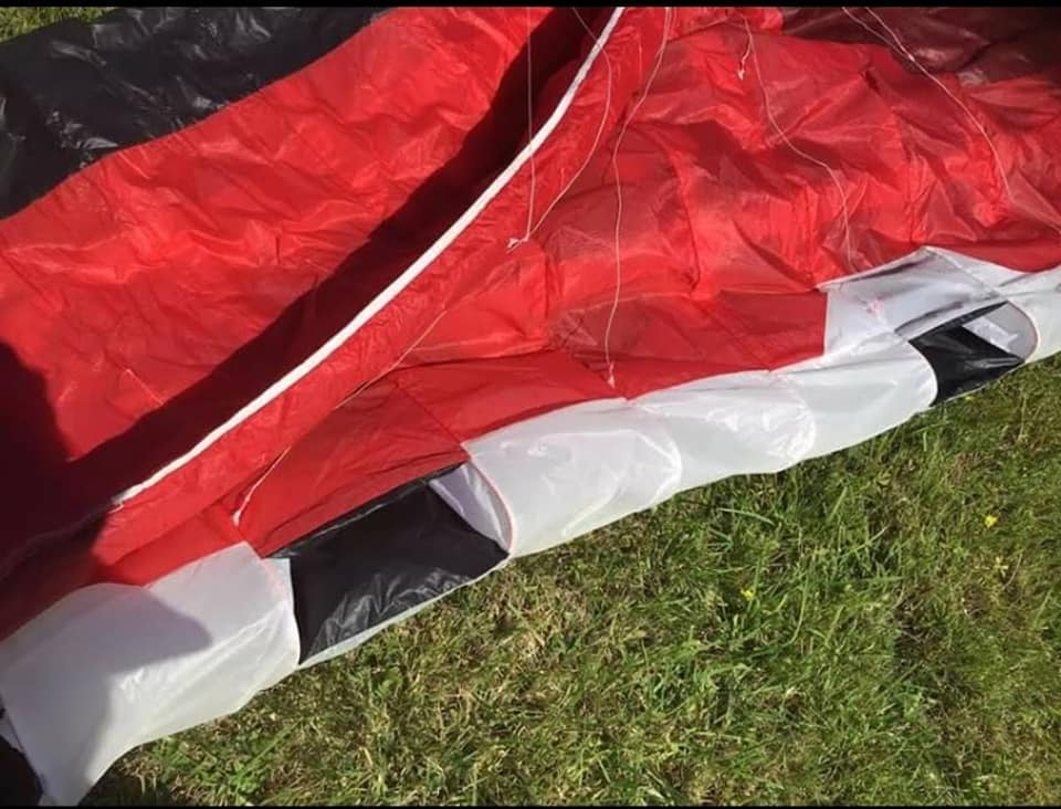 Flysurfer Sonic 2 rouge 13 m2 complète 20422210