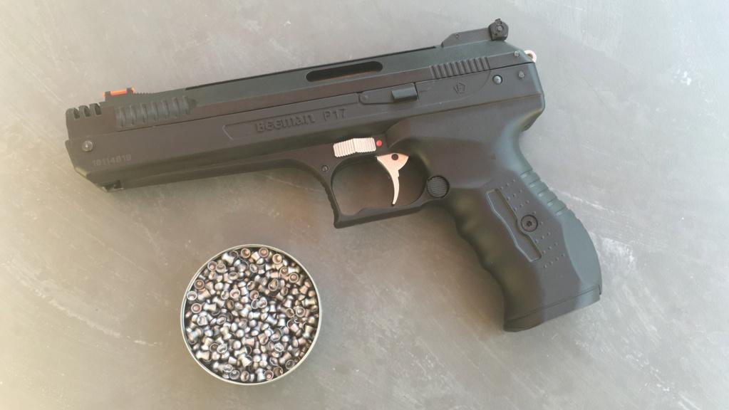 Réception premier pistolet : Beeman P17 Img_6519