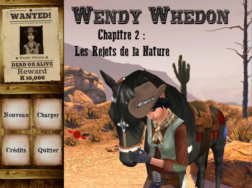 Wendy Whedon 2 - Les Rejets de la Nature Menu211