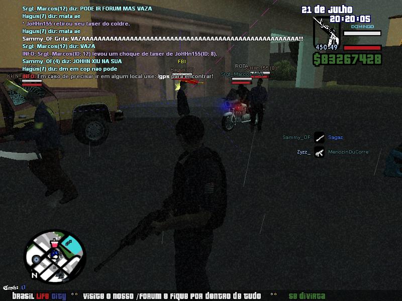 INVASAO A HQ ROTA SEM PERMICAO !!! Sa-mp-17