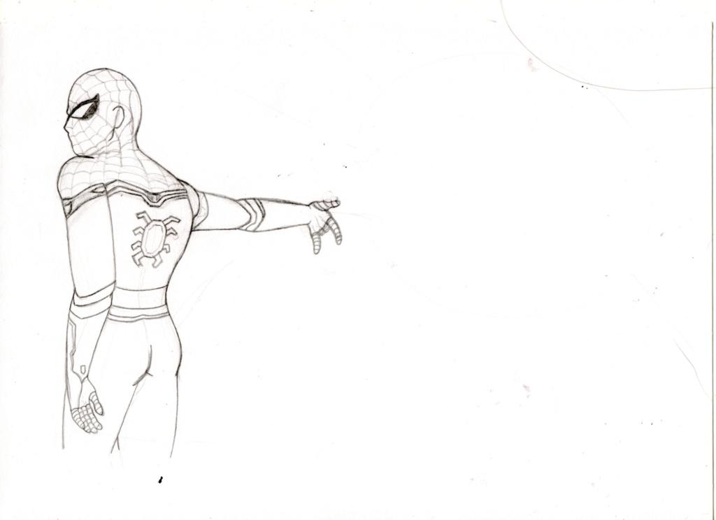 [En cours] Fanart de Spiderman Spider10