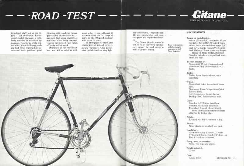 Gitane tour de France tout reynolds 1969 - Page 3 Bicycl10