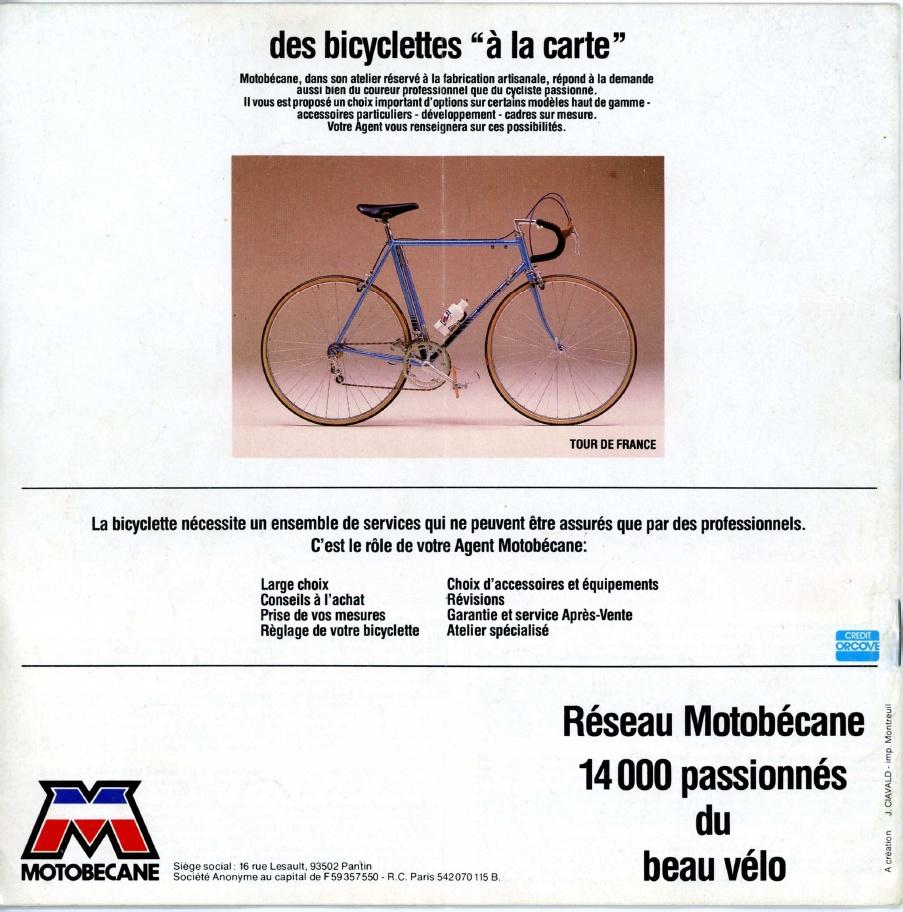 Motobecane C4C/C5 1977 Motobe12