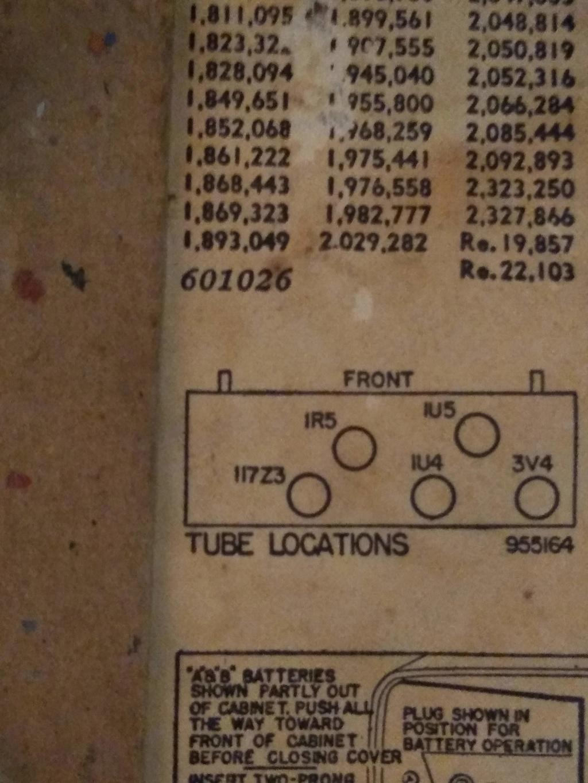 Emerson 79A-1 radio with strange 117v3 tube Img_2011