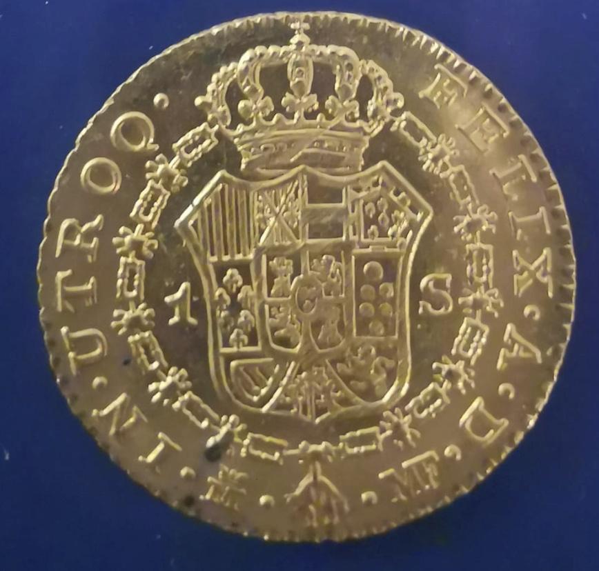 Opinión autenticidad - 1 escudo - Carlos III - 1797 - Madrid Captur11