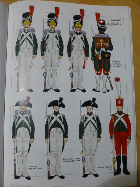 UNIFORMES des ITALIENS combattants dans l'Armée Impériale (1ère partie) P1250821