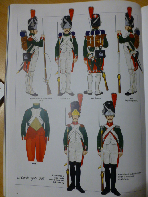 UNIFORMES des ITALIENS combattants dans l'Armée Impériale (1ère partie) P1250822