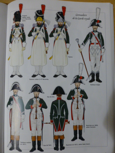 UNIFORMES des ITALIENS combattants dans l'Armée Impériale (1ère partie) P1250825