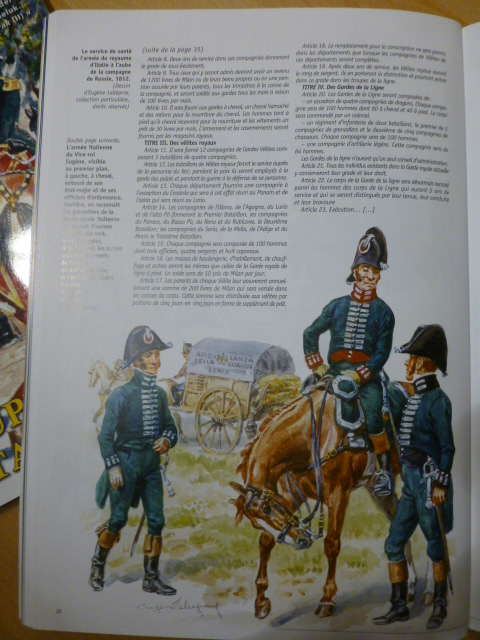 UNIFORMES des ITALIENS combattants dans l'Armée Impériale (1ère partie) P1250834
