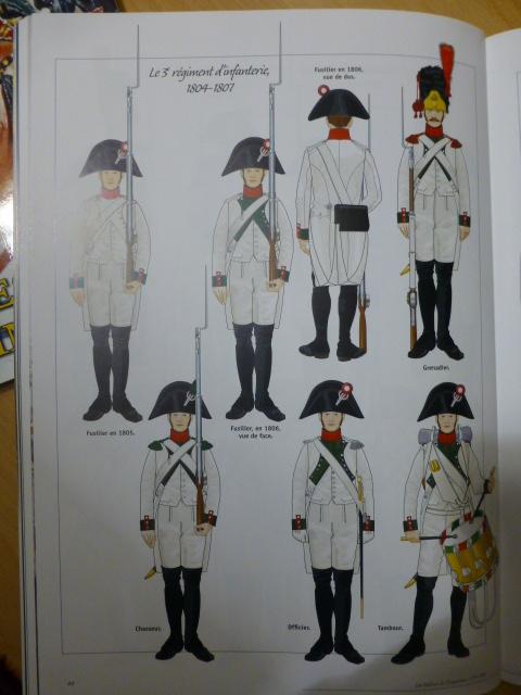 UNIFORMES des ITALIENS combattants dans l'Armée Impériale (1ère partie) P1250838