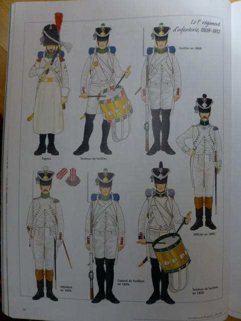 UNIFORMES des ITALIENS combattants dans l'Armée Impériale (1ère partie) P1250844