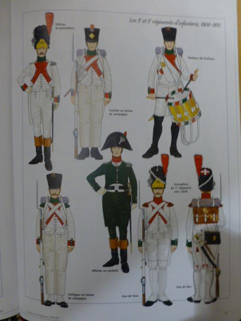 UNIFORMES des ITALIENS combattants dans l'Armée Impériale (1ère partie) P1250849