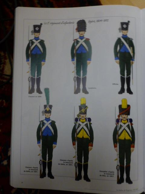 UNIFORMES des ITALIENS combattants dans l'Armée Impériale (1ère partie) P1250852