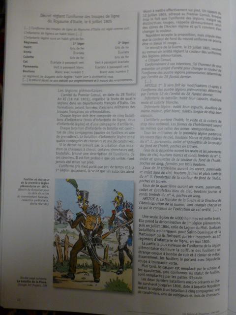 UNIFORMES des ITALIENS combattants dans l'Armée Impériale (1ère partie) P1250857