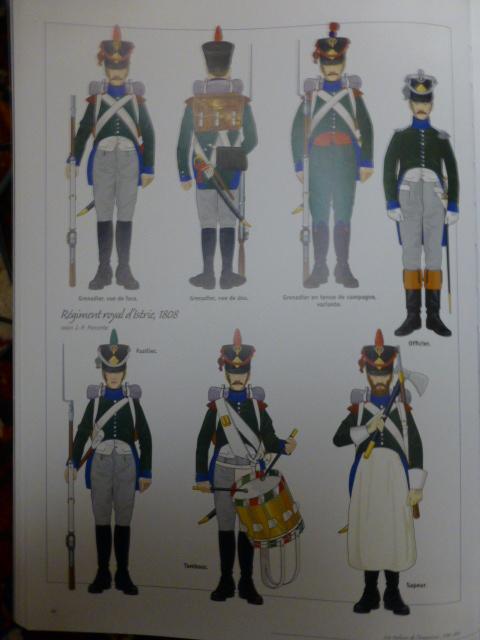 UNIFORMES des ITALIENS combattants dans l'Armée Impériale (1ère partie) P1250859