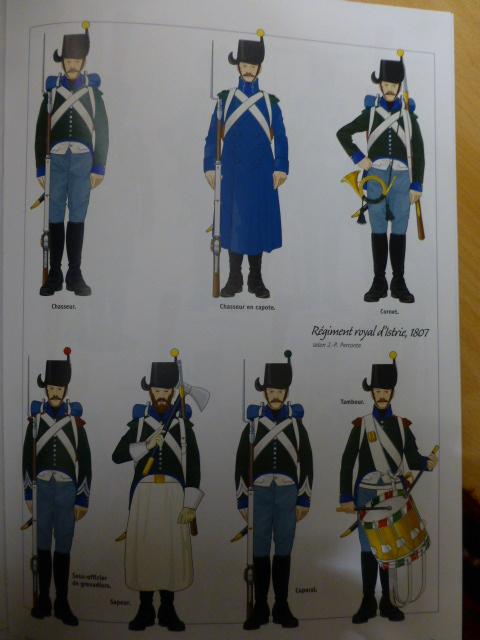 UNIFORMES des ITALIENS combattants dans l'Armée Impériale (1ère partie) P1250860