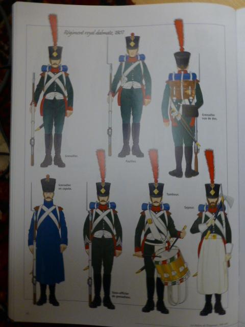 UNIFORMES des ITALIENS combattants dans l'Armée Impériale (1ère partie) P1250861