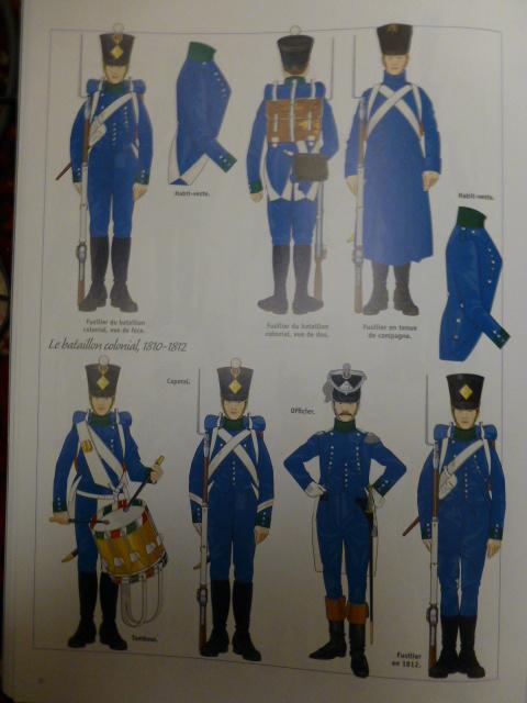 UNIFORMES des ITALIENS combattants dans l'Armée Impériale (1ère partie) P1250863