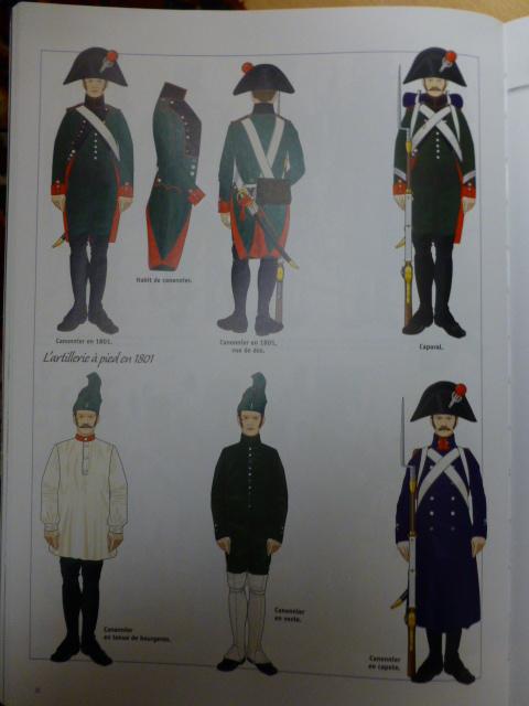 UNIFORMES des ITALIENS combattants dans l'Armée Impériale (1ère partie) P1250864