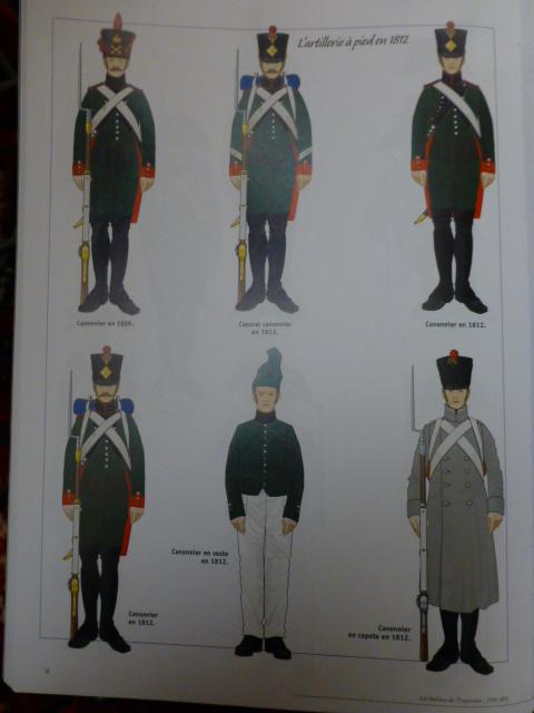 UNIFORMES des ITALIENS combattants dans l'Armée Impériale (1ère partie) P1250915