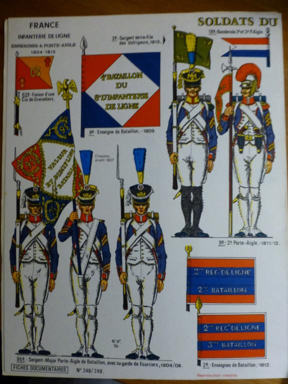 Les Fanions des bataillons de l armée Francaise P1260210