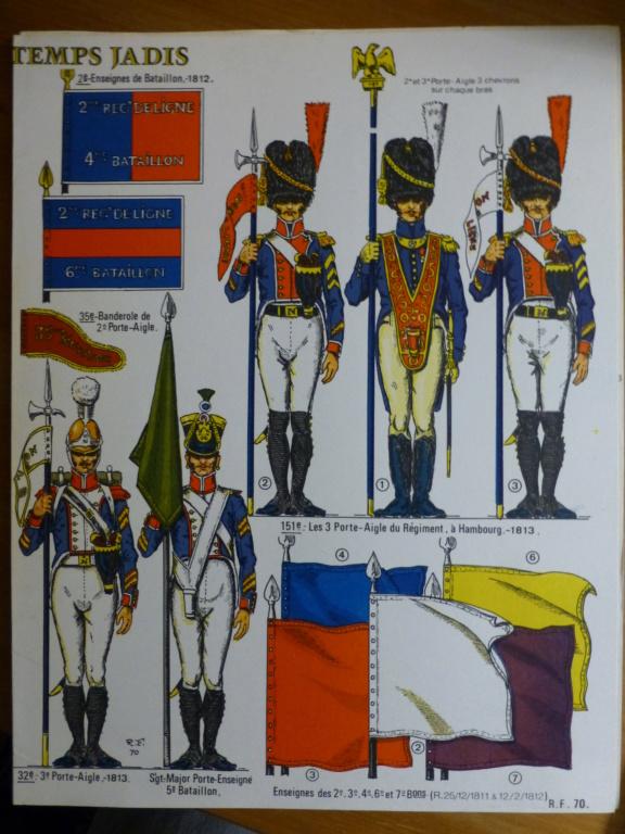 Les Fanions des bataillons de l armée Francaise P1260211