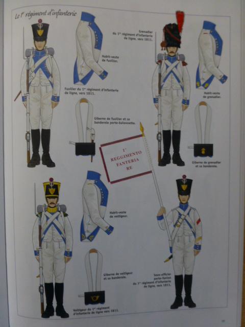 UNIFORMES des NAPOLITAINS sous l'EMPIRE P1260424