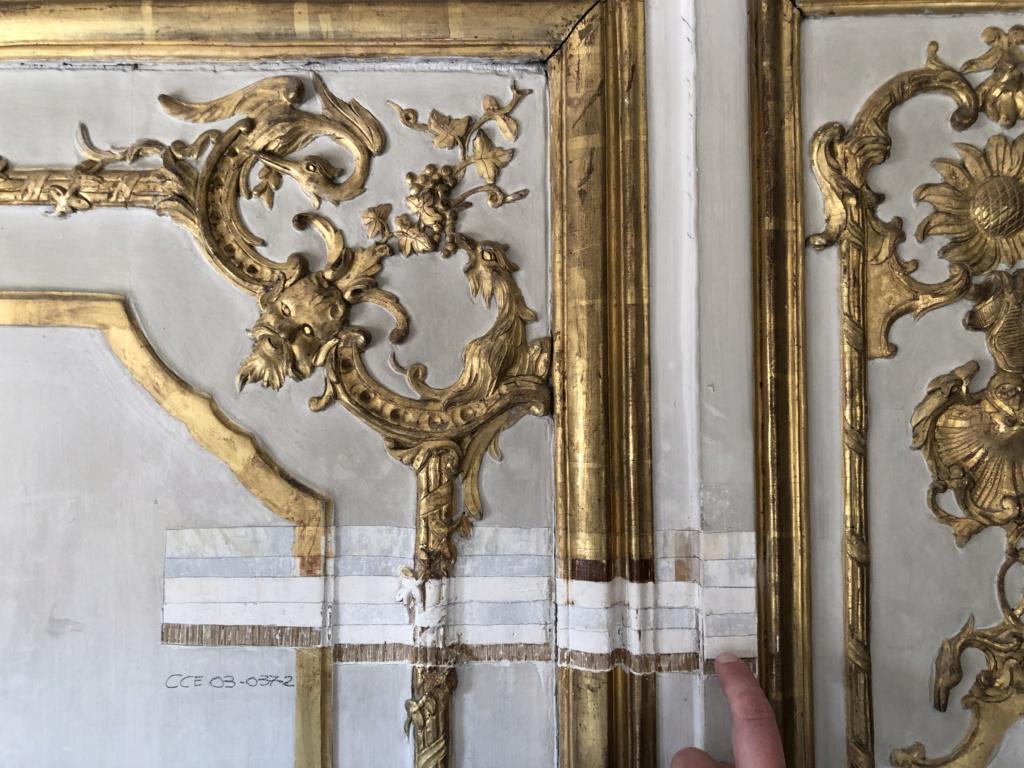 Restauration de l'appartement de Mme du Barry, à Versailles Img_4412