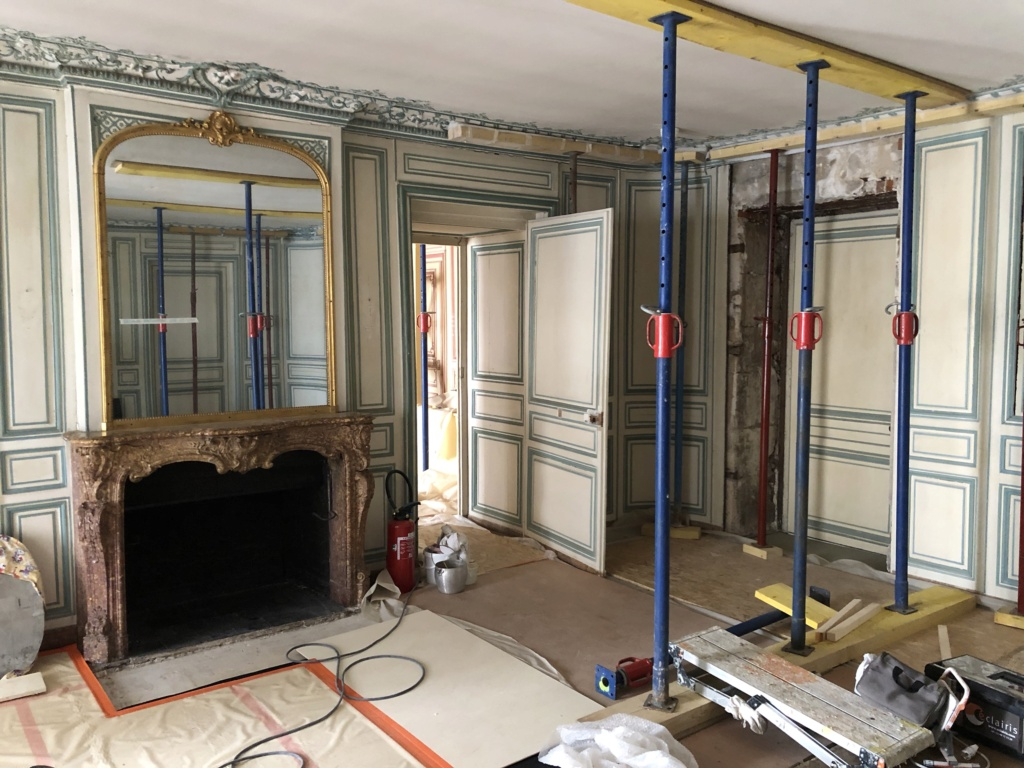 Restauration de l'appartement de Mme du Barry, à Versailles Img_4416