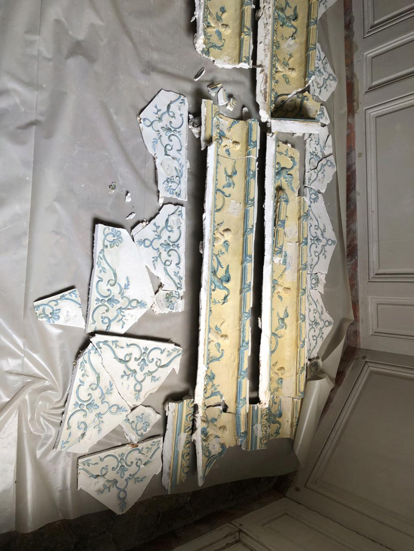 Restauration de l'appartement de Mme du Barry, à Versailles Img_4510