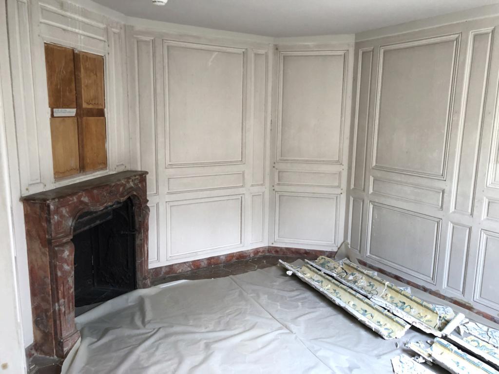 Restauration de l'appartement de Mme du Barry, à Versailles Img_4511