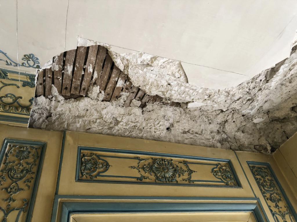 Restauration de l'appartement de Mme du Barry, à Versailles Img_4512