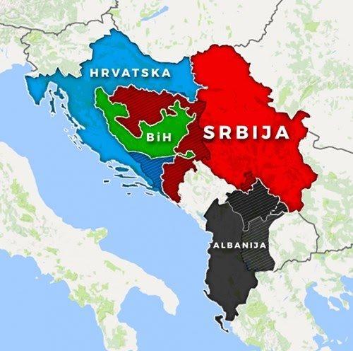 Mapa novih granica Balkana Dfafa910