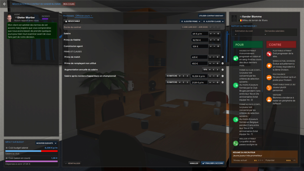 Propositions de contrats - joueurs en fin de contrat Blomme10