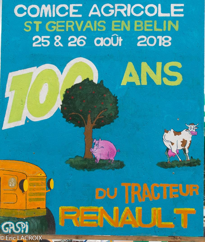 Les 100 ans du tracteur RENAULT en photo... 2018_010