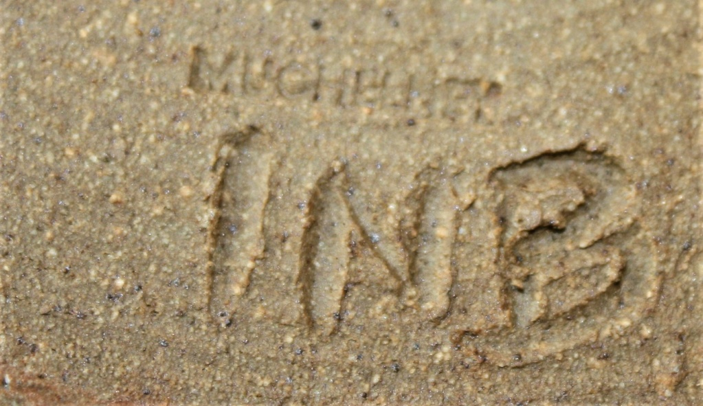 """Muchelney vase inscribed """"INB"""" Mulche11"""
