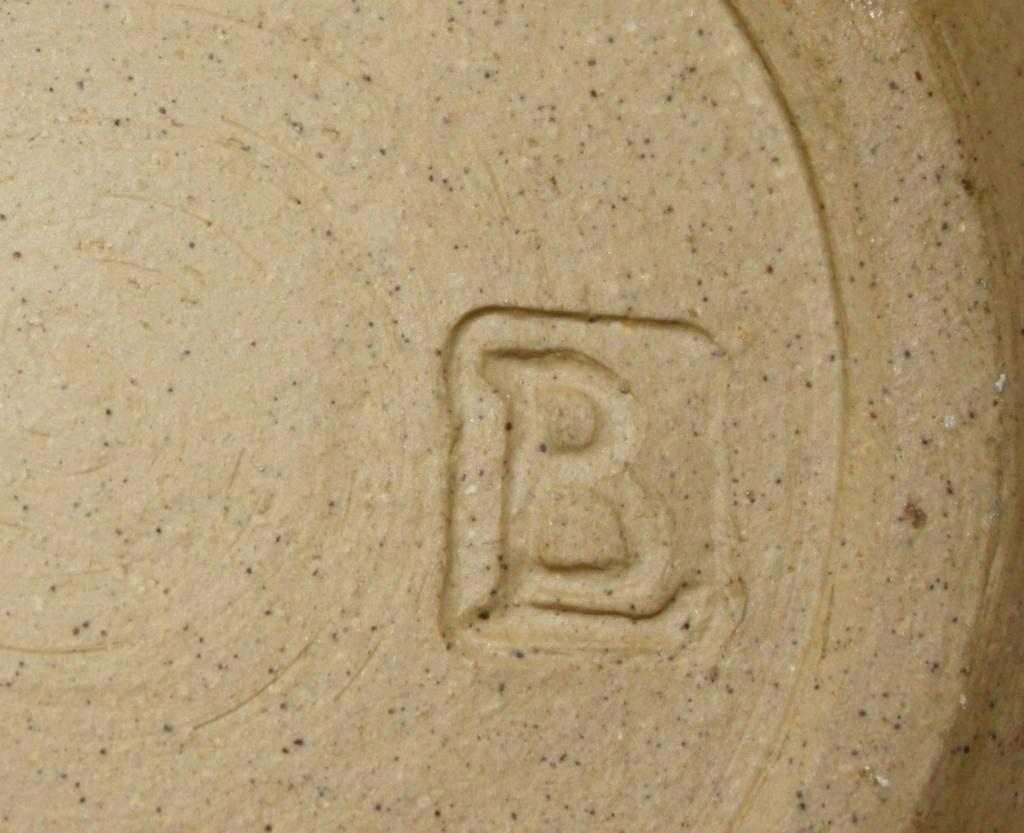 Mystery lidded pot with BL mark Studio10