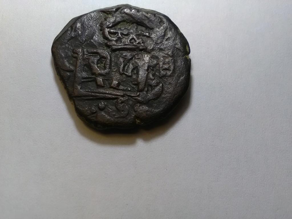 8 maravedís de Felipe III o IV resellados. 16131611