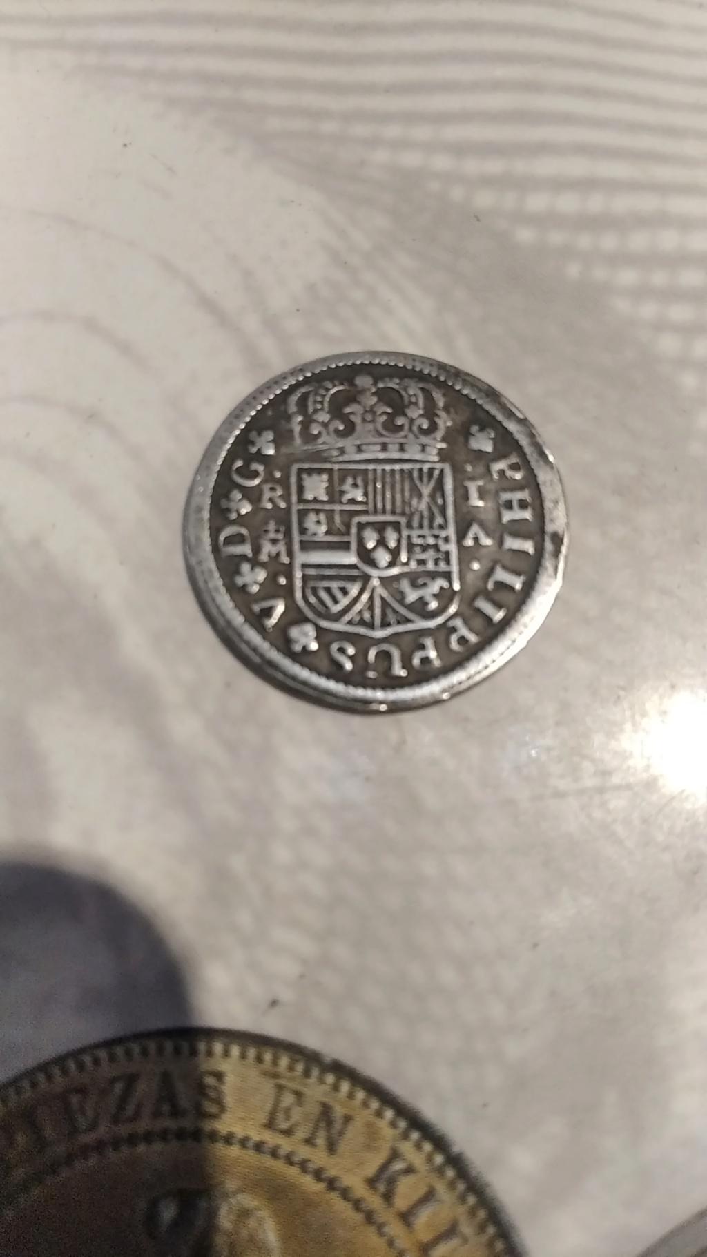 1 real de Felipe V de Madrid,1721. Img_2012
