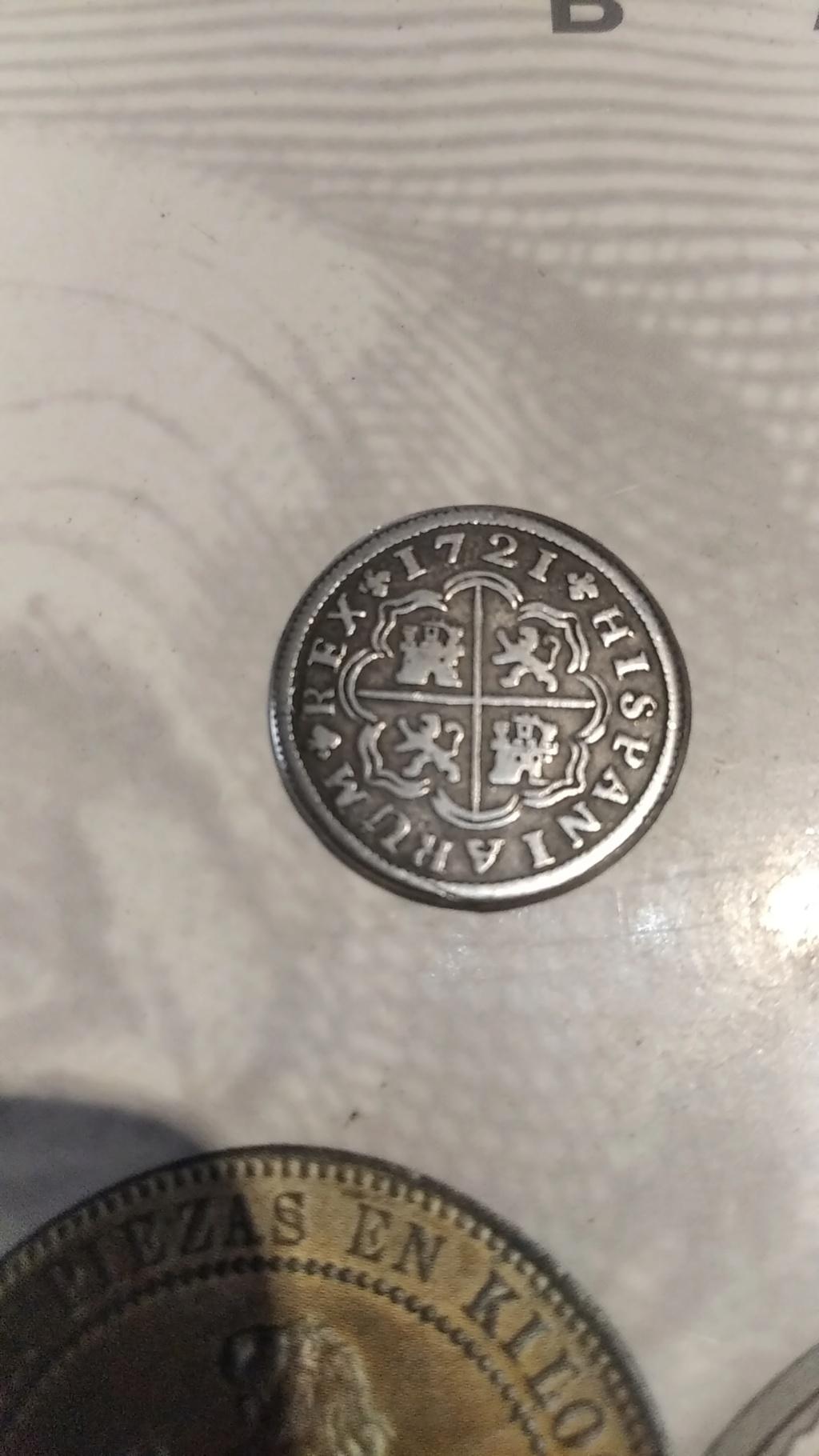 1 real de Felipe V de Madrid,1721. Img_2013