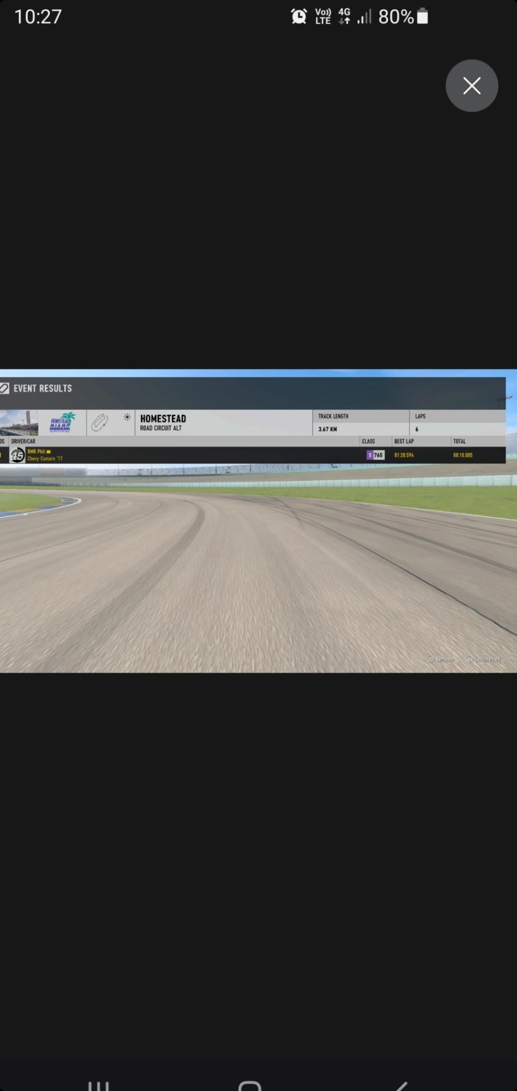 TEC R3 10 Hours of Homestead - GT4 Class 105% Verification Screen11